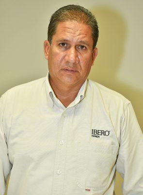 Ricardo Calderón Limón, coordinador deportivo de la Ibero Torreón.