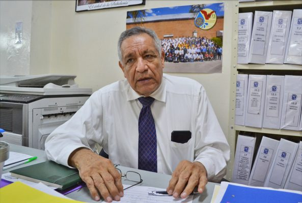 Rodolfo Silva Rosales, director del Colegio América.