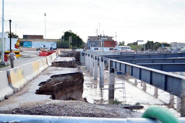 Aseguran las autoridades que la Estación Nazas del Metrobús, una vez terminada, no se volverá a inundar en tiempos de lluvias porque contará con su propio sistema de drenaje pluvial.