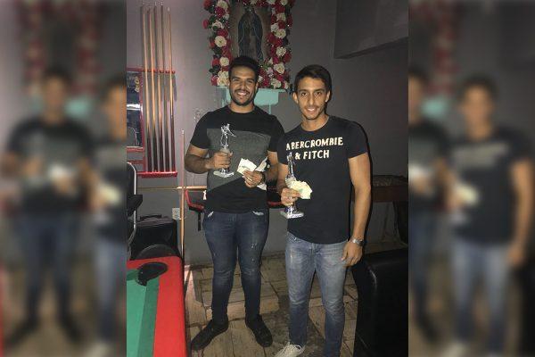 Luis Robles, campeón del Torneo de Billar Bola 9