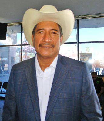 Pedro Luna Solís, regidor en el Ayuntamiento.