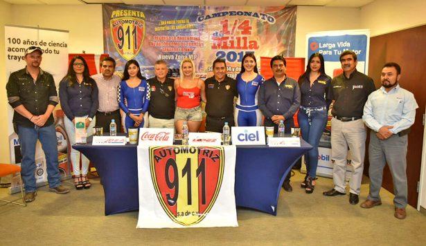 Todo listo para el Campeonato de Cuarto de Milla en el Autódromo Torreón