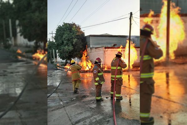 Explosión genera movilización y alarma en Gómez Palacio