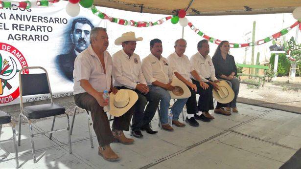 Asistentes a los festejos del Reparto Agrario.