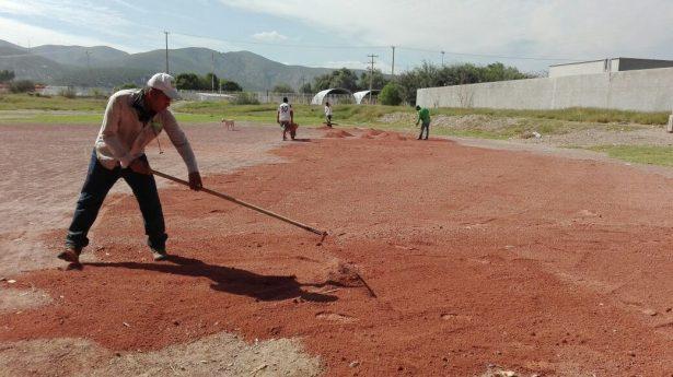Inician mantenimiento en los campos de San Fernando