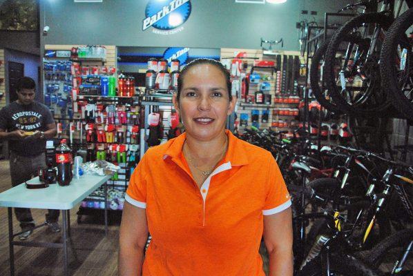 Alina Garza, titular del Deporte en Torreón.