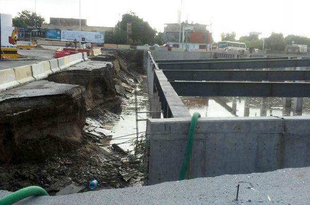 Sin afectaciones por inundación, estación Nazas del Metrobús podrá continuar