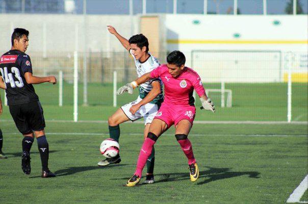 Santos vence 1-0 a Chivas en Torneo Sub 17