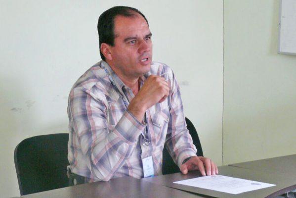 Ulises Cambero Gutiérrez, titular de la SAGDR en La Laguna de Durango.