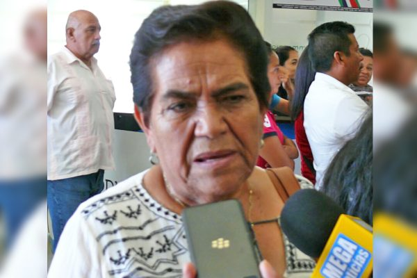 Delegado de SEDESOE no es parejo con todos los beneficiarios, solo apoya a los del PAN: Candelaria González