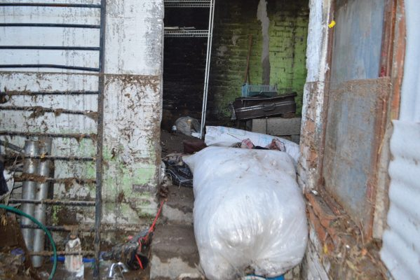 Tras la inundación, quedan inhabitables 20 viviendas en la colonia Victoria