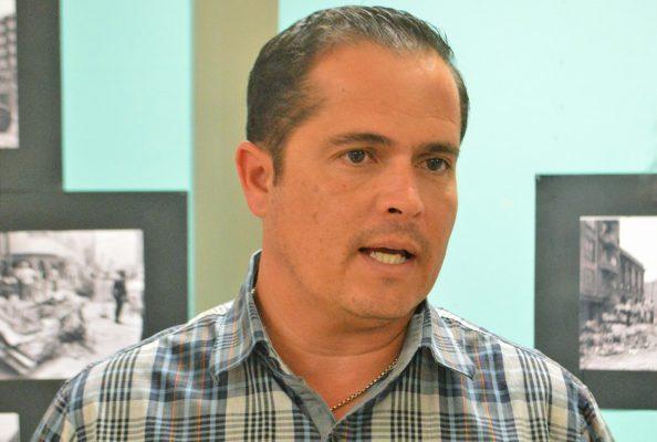 Alberto Porragas Quintanilla, coordinador de Protección Civil en Torreón.