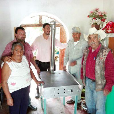j15 entrega de estufas 3f