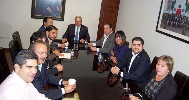Reunión de la Comisión Especial de diputados y diputadas encargada de atender los Procesos Legislativos en Materia de Combate a la Corrupción.