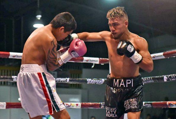 Grandes combates de box en la Unidad Deportiva Torreón