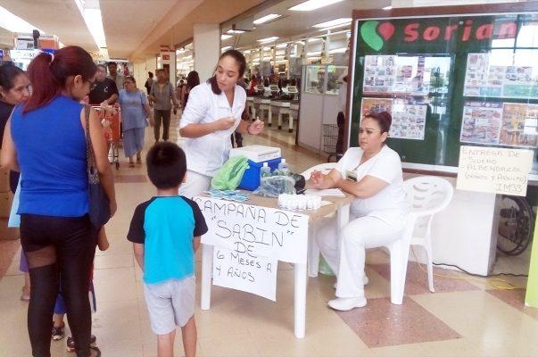 Arrancan Semana Nacional de Salud sin vacunas