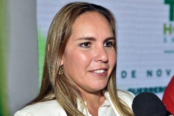 Lic. Alina Garza Herrera, directora del Instituto Municipal del Deporte.