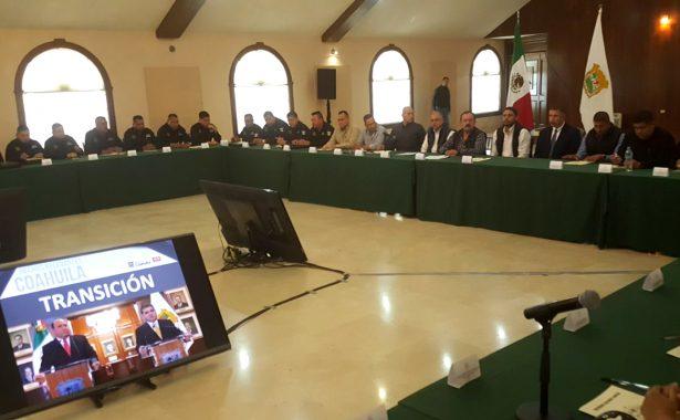 Continúa la coordinación para mantener a la baja los índices delictivos en Coahuila
