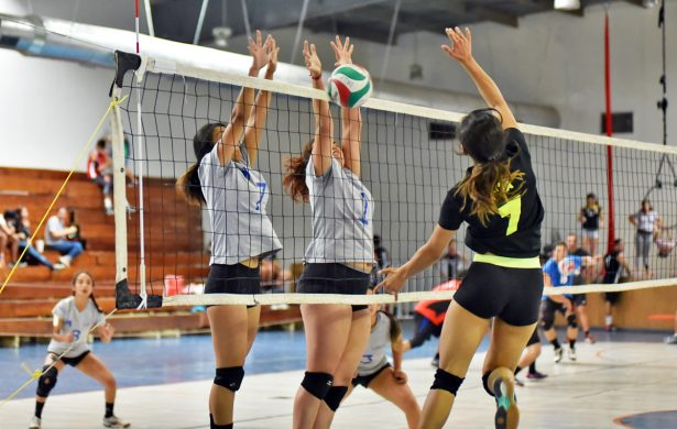 Lista la fecha 2 del Torneo de Novatas de Voleibol