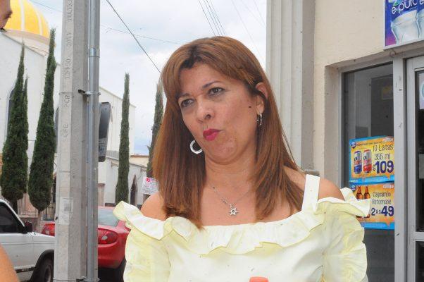 Ana Cecilia Monárrez Mena, titular de la Dirección de Fomento Económico y Turismo Municipal.