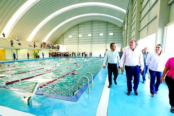 Inaugura RMV Polideportivo Oriente