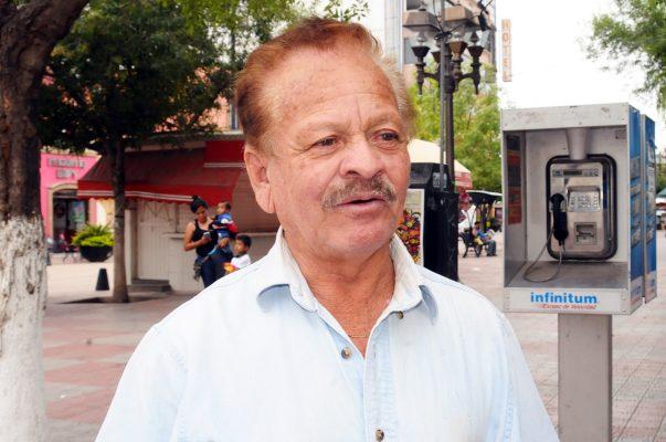 Gabino Chavarría Romero, dirigente de la Unión de Choferes y Taxistas de la CNOP.