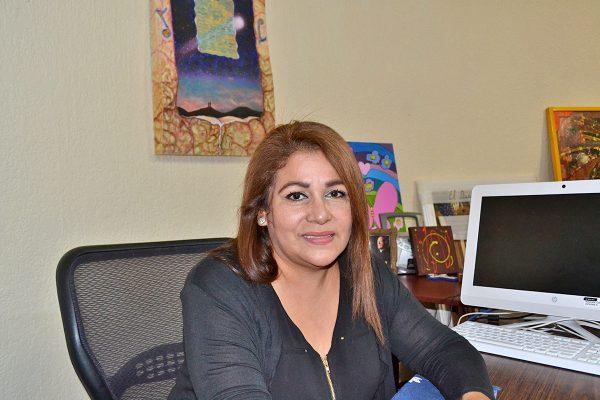 Blanca Alicia Maltos, directora del Centro Cultural.
