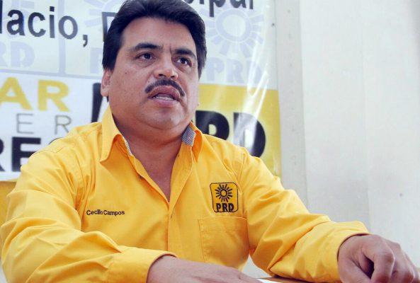 Cecilio Campos Jiménez, presidente del PRD en Gómez Palacio.