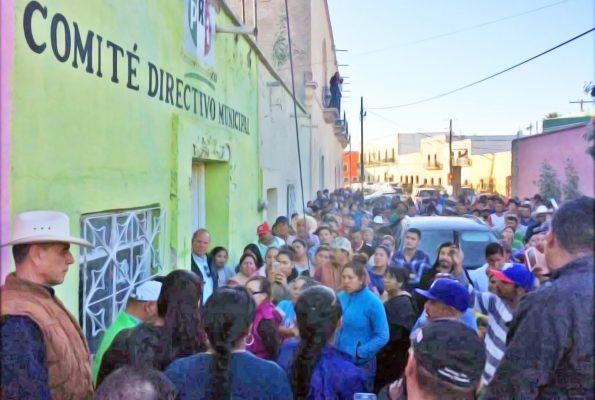 Impiden rinda protesta Marisol Peña