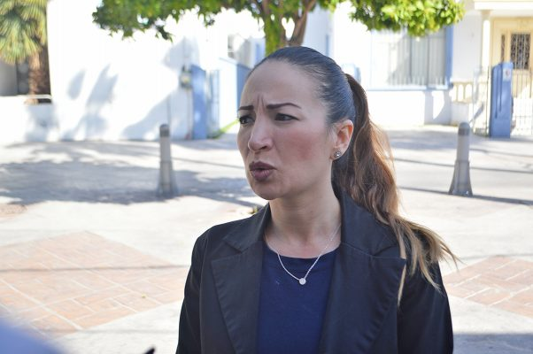 Michelle Taboada Barragán, titular de la Coordinación del Paseo Morelos.