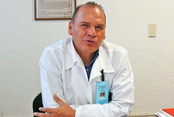 Doctor Luis Fernando Zúñiga, director del Hospital General.