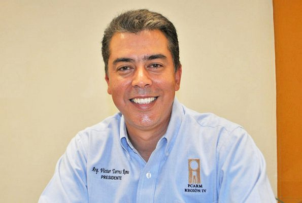 Víctor Hugo Torres Romo, representante del Colegio de Arquitectos de La Laguna.