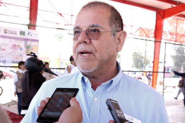 Manuel Velasco, director de Salud Municipal.