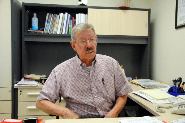 Gabriel Calvillo Ceniceros, director de Ordenamiento Territorial y Urbanismo.