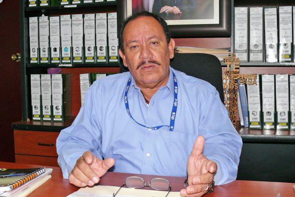 José Froilán García, delegado regional de la Secope.
