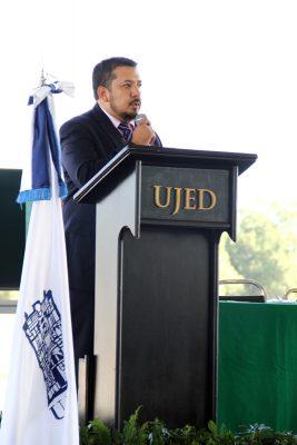 Juan Carlos Herrera Salazar, director de FCB UJED.