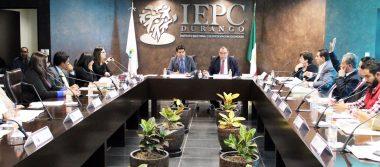Aprueba IEPC Durango topes de gastos de la próxima precampaña