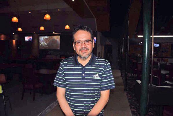 Ernesto Franco, organizador del evento.