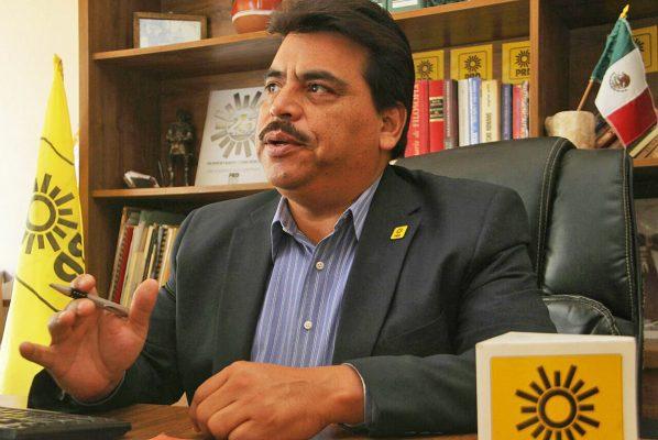 Cecilio Campos Jiménez, presidente del PRD.