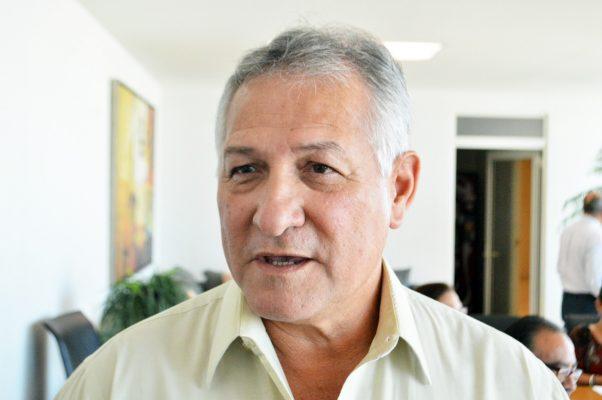 Mario Prudencio Valdés Garza, presidente de la Comisión de Hacienda, Patriomonio y Cuenta Pública del Cabildo.