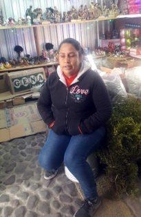 Esther Sánchez Chávez espera un repunte en las ventas.