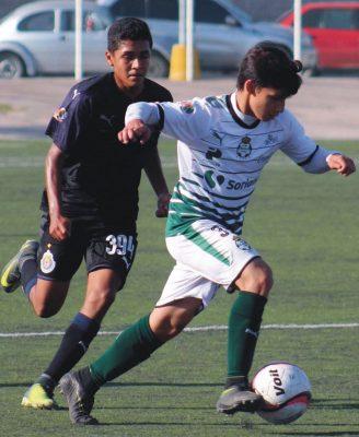 Los Guerreritos ya sin posibilidades de calificar a la liguilla visitarán al Morelia en la última fecha de la fase regular del Torneo Sub 15.