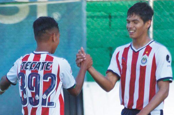 Chivas golean 5- 1 a Santos en Torneo Sub 15