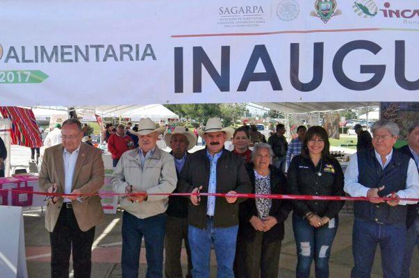 Inauguran la Feria Estatal Agroalimentaria