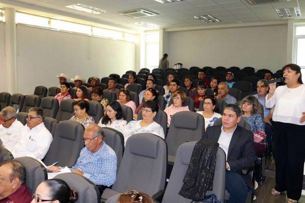 Personal de las secretarías de Finanzas y Rendición de Cuentas impartieron la capacitación.