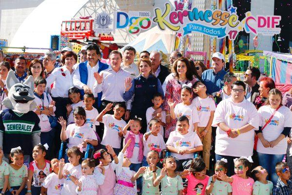 """Exitosa """"Kermés para Todos"""" permitirá alegría de 500 mil niños"""