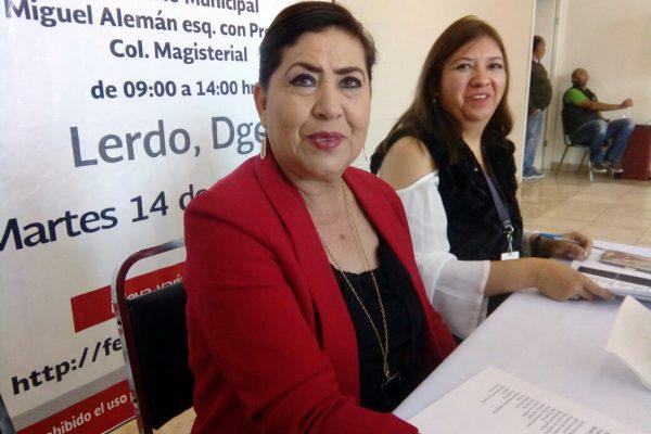 María Luisa González Achem, alcaldesa de Lerdo.