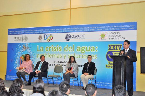 Inauguran XXIV Semana Nacional de Ciencia y Tecnología en Durango