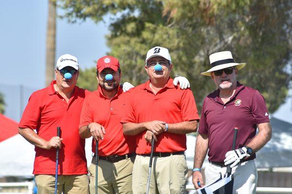Todo lo recaudado en este torneo de golf será destinado a la Fundación Sonrisa Azul A.C. que atiende a niños con problemas de autismo.