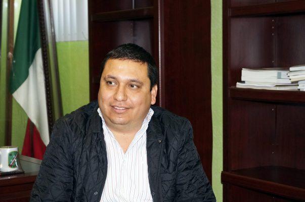 Juan González González, alcalde de San Pedro de las Colonias.